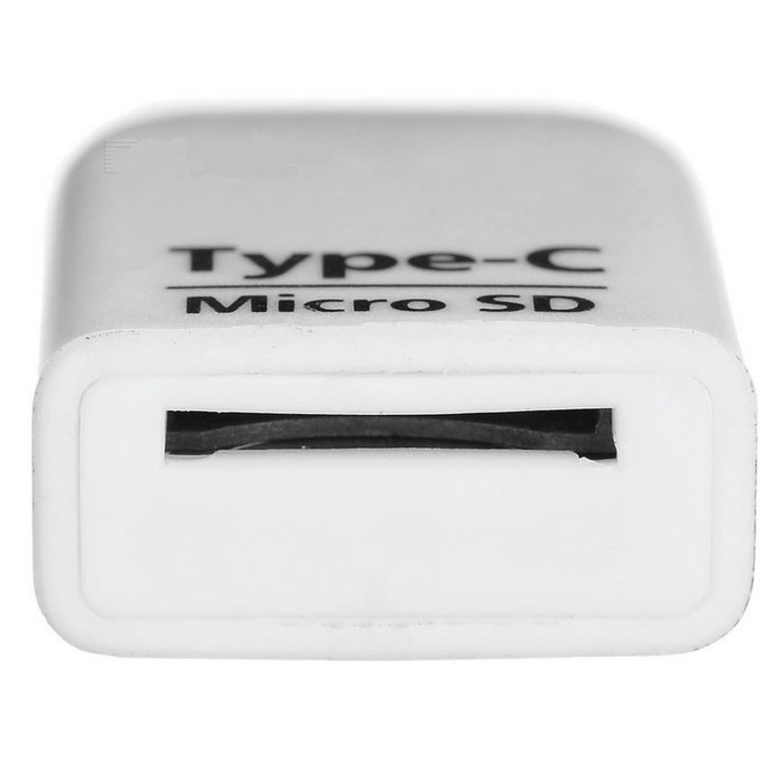 Card Reader OTG USB 3.1 Type C ke Micro SD