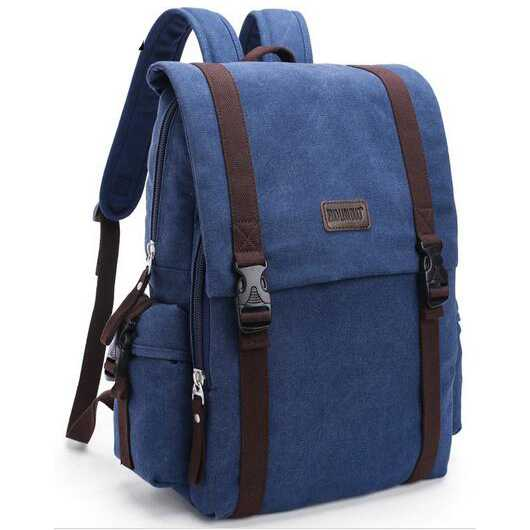 Tas Ransel Backpack Canvas
