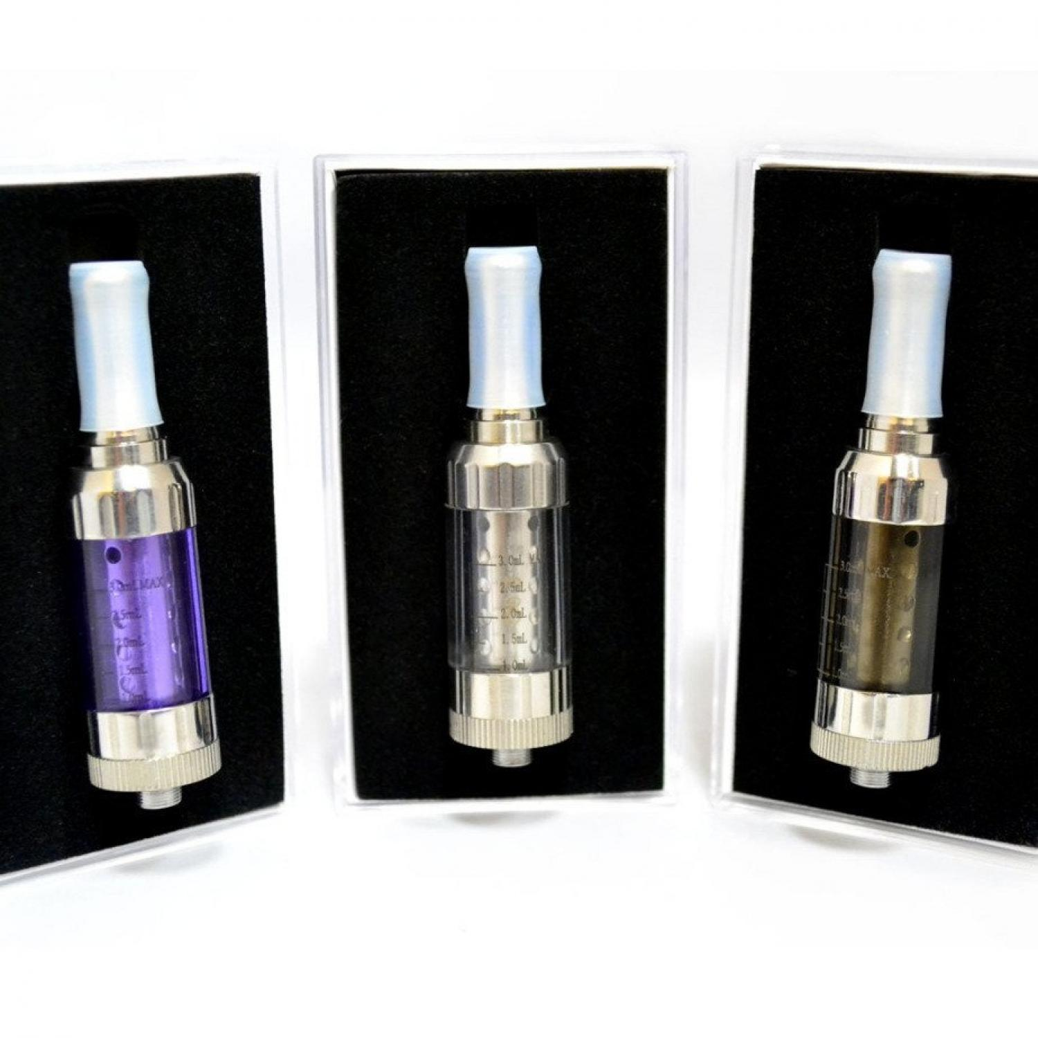 Innokin iClear 30S Dual Coil Clearomizer NonRotatable Drip Tip 2.1 Ohm