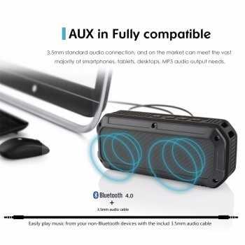 CRDC S200C Wireless Bluetooth Speaker Waterproof IPX6