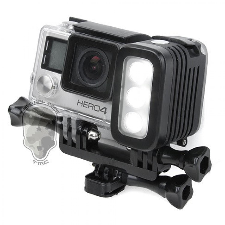 TMC Camera Headlight GoPro 3 Cree LED 280 Lumens - HR325