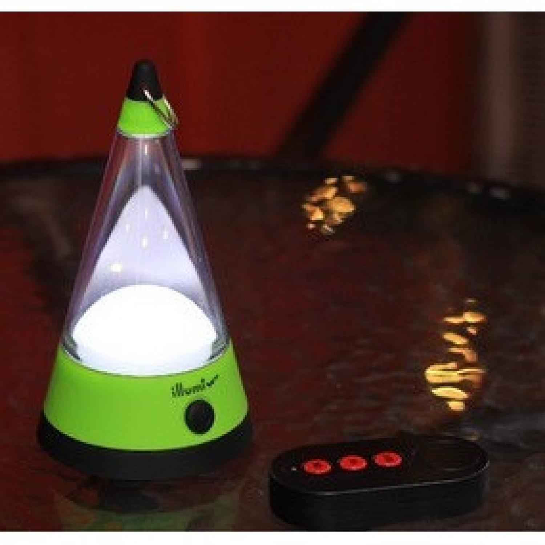 LED Radio Remote Camping Tent Lights - AA-SZD007