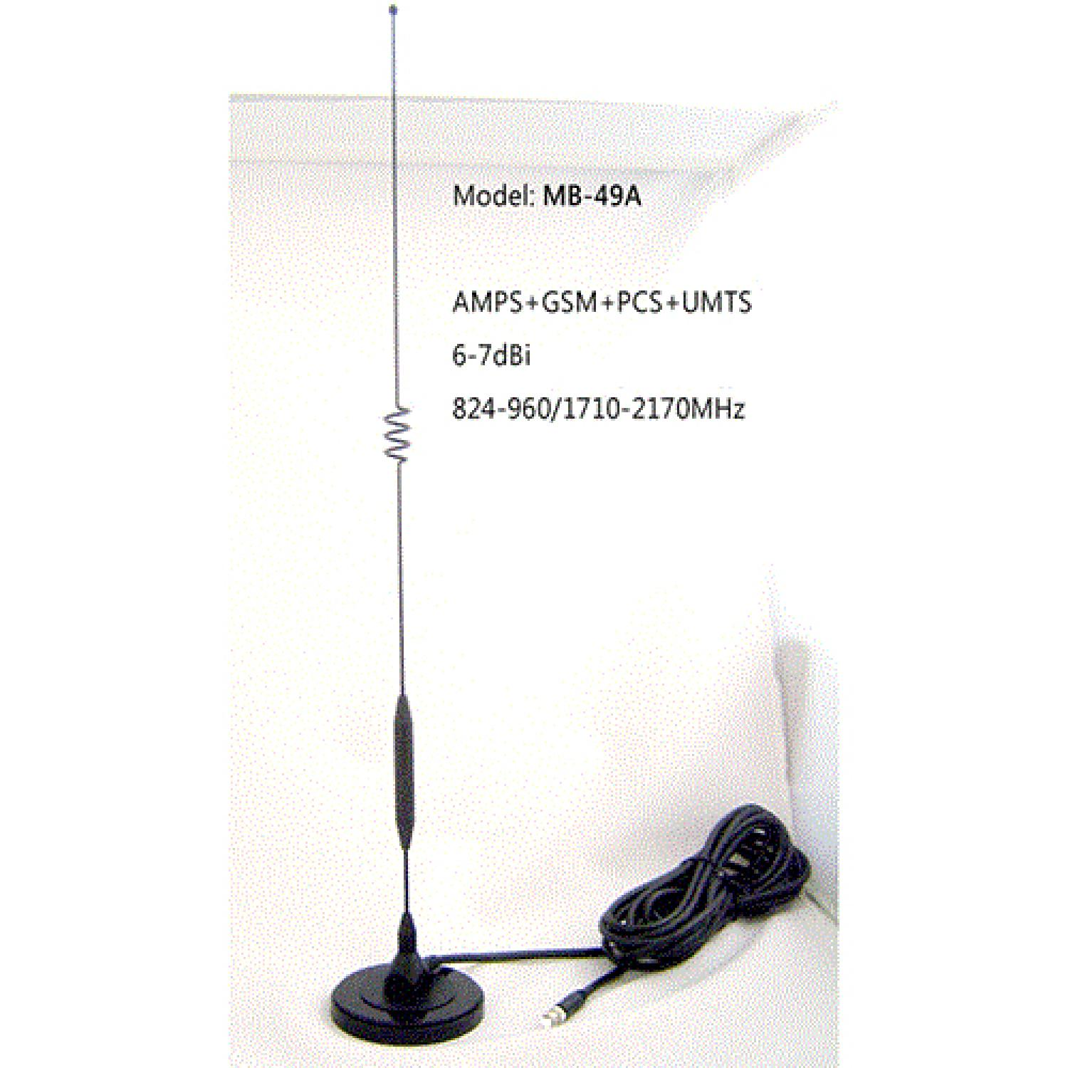 7dBi GSM 3G Magnetic Base Antenna MB-49A