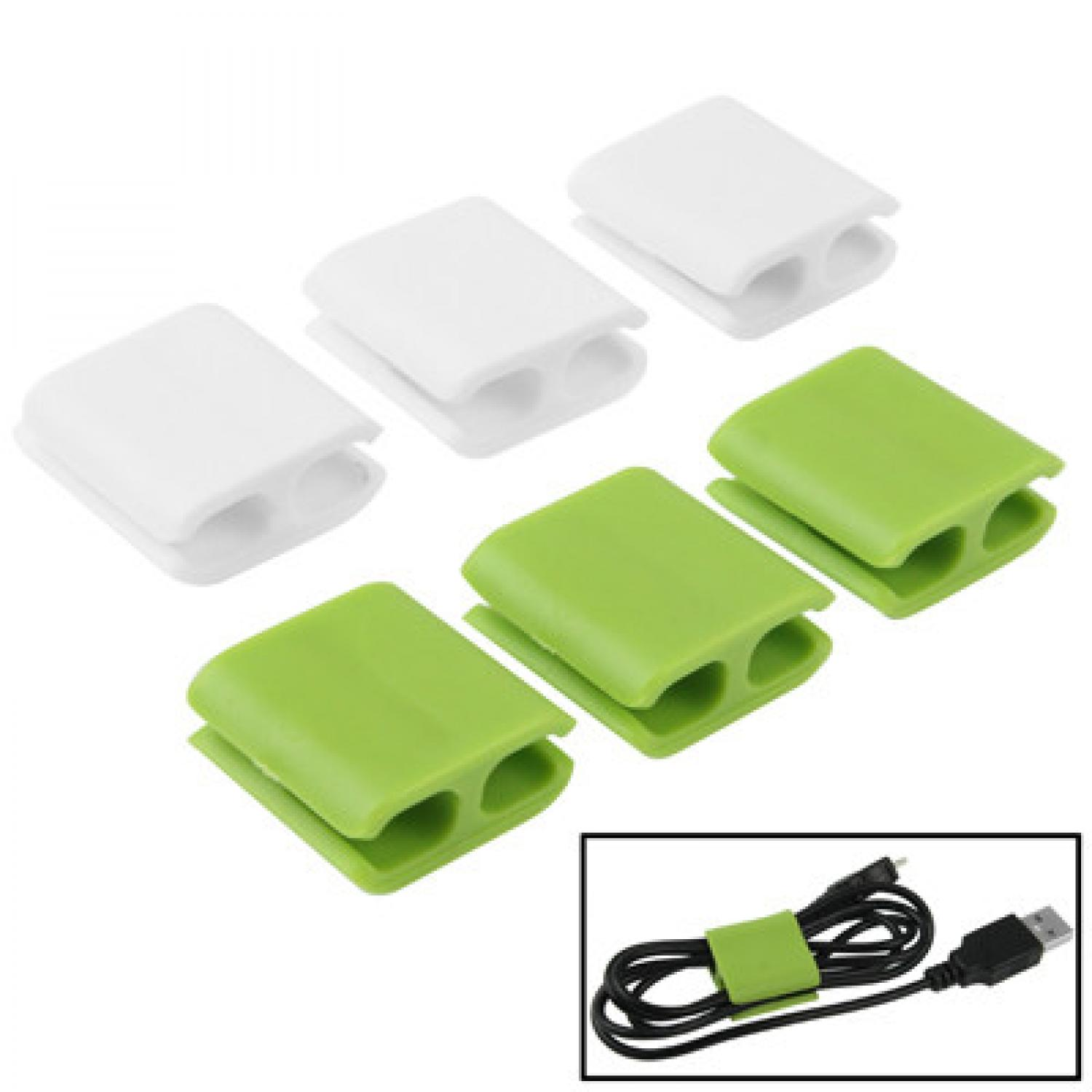 Smart Wire Cable Clips 6pcs - Size S