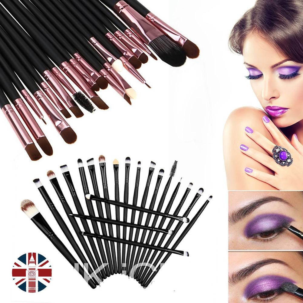 Jual Kuas Make Up Uk Professional Cosmetic Brush 20 Set Informasi Produk