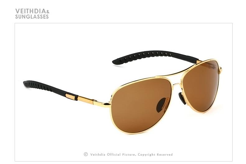 Jual Veithdia Kacamata Aviator Polarized Sunglasses