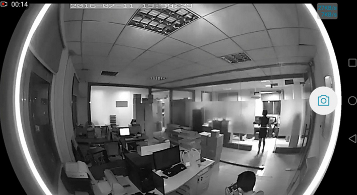 Camera CCTV Wireless IP Camera CCTV 360 Degree 720P - FV-1201
