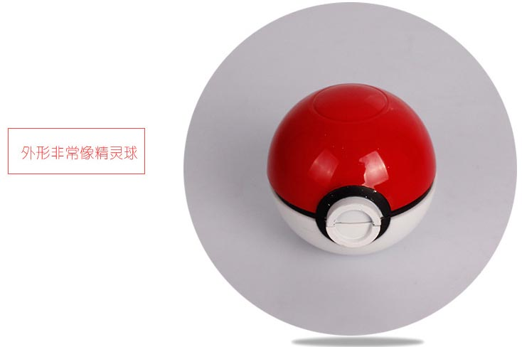 Penggiling Grinder Tembakau Model Bola Pokemon