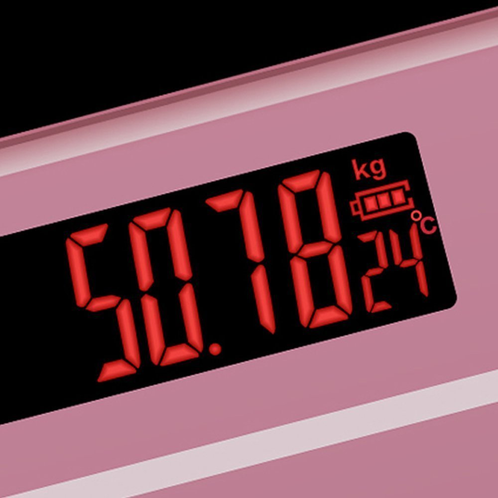 Jual Timbangan Badan Digital Dengan Indikator Suhu Taffware Ini Memiliki Layar Lcd 75mm X 30mm Sebagai Penunjuk Angka Dilengkapi Led Untuk Menunjukkan Dan Kondisi Baterai
