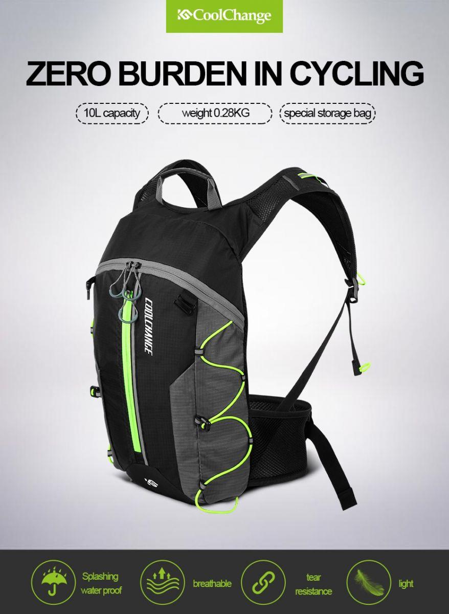 Jual Coolchange Tas Ransel Gunung Hiking Sepeda Waterproof 10l Backpack Untuk Mendaki Camping Bersepeda Dll Memiliki Bahan Yang Sangat Ringan Dapat Menyimpan Banyak Barang Bawaan Anda